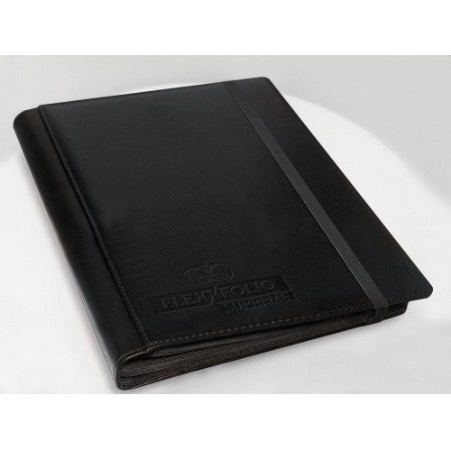 Buy Ultimate Guard - 9 Pocket Flexxfolio Supreme - Black and more Great Sleeves & Supplies Products at 401 Games