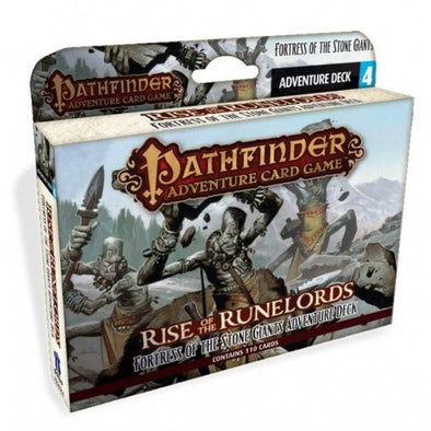Buy Pathfinder Adventure Card Game - Rise of the Runelords - Fortress of the Stone Giants Adventure Deck and more Great Board Games Products at 401 Games