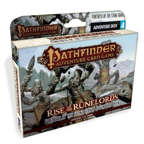 Pathfinder Adventure Card Game - Rise of the Runelords - Fortress of the Stone Giants Adventure Deck