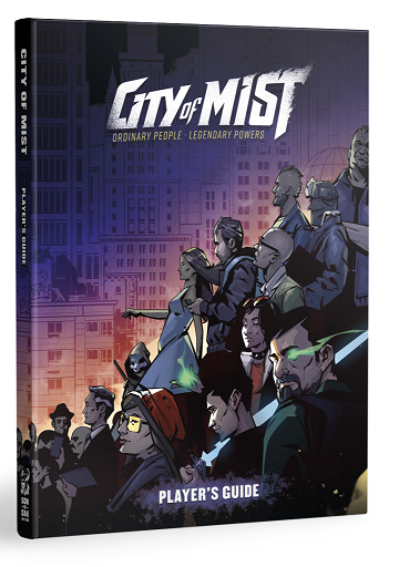 Buy City of Mist - Player's Guide (Pre-Order) and more Great RPG Products at 401 Games