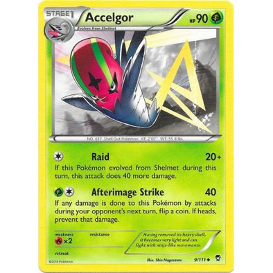 Buy Accelgor - 9/111 and more Great Pokemon Products at 401 Games