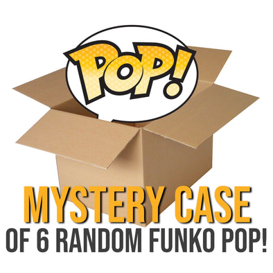 Mystery Case of 6 Funko POP's available at 401 Games Canada