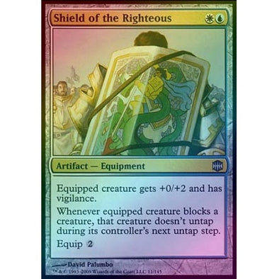 Shield of the Righteous (Foil) (ARB) available at 401 Games Canada