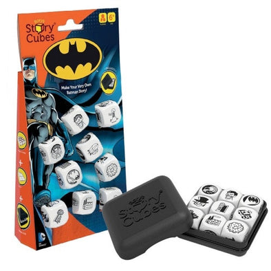 Buy Rory's Story Cubes - Batman and more Great Board Games Products at 401 Games