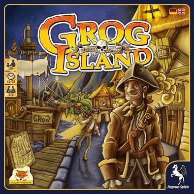 Buy Grog Island and more Great Board Games Products at 401 Games