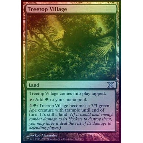 Treetop Village (Foil) available at 401 Games Canada