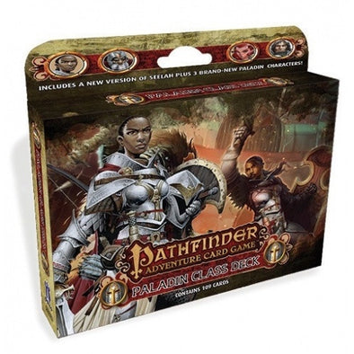 Buy Pathfinder Adventure Card Game - Paladin Class Deck and more Great Board Games Products at 401 Games
