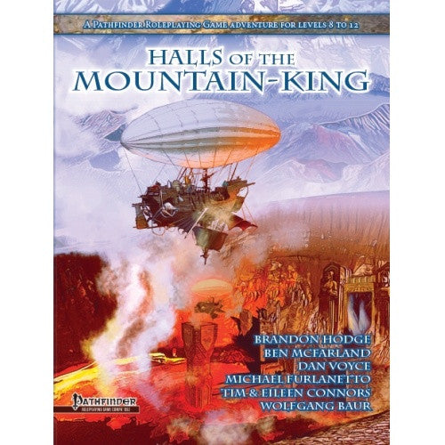Buy Pathfinder - Module - Halls of the Mountain King and more Great RPG Products at 401 Games