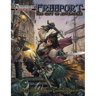 Buy Pathfinder - Book - Freeport: The City of Adventures and more Great RPG Products at 401 Games