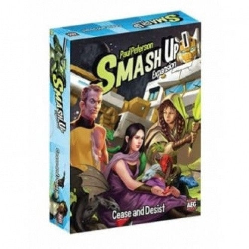 Smash Up - Cease and Desist available at 401 Games Canada