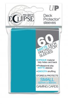 Ultra Pro - Small Card Sleeves 60ct - Pro Matte Eclipse - Light Blue - 401 Games