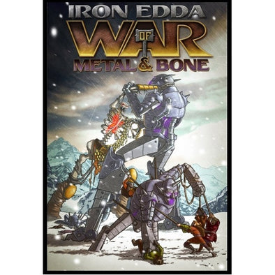 Iron Edda - War of Metal and Bone - Core Rulebook (FATE) available at 401 Games Canada