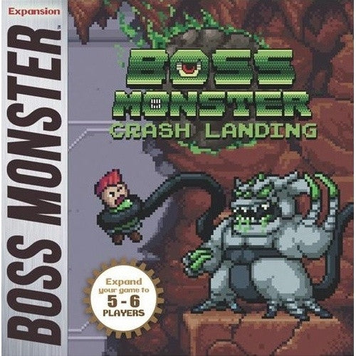 Boss Monster - Crash Landing 5-6 Player Expansion - 401 Games