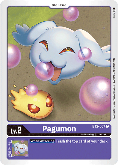 Pagumon (BT2-007) available at 401 Games Canada