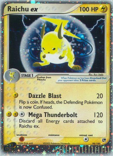 Raichu ex - 98/100 (SST098) available at 401 Games Canada