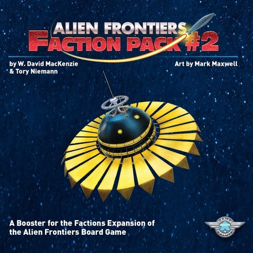 Buy Alien Frontiers - Faction Pack 2 and more Great Board Games Products at 401 Games