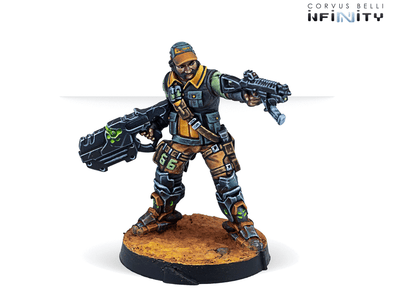 Infinity - NA2 - Monstruckers (Submachine Gun) available at 401 Games Canada