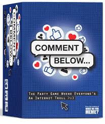 Comment Below available at 401 Games Canada