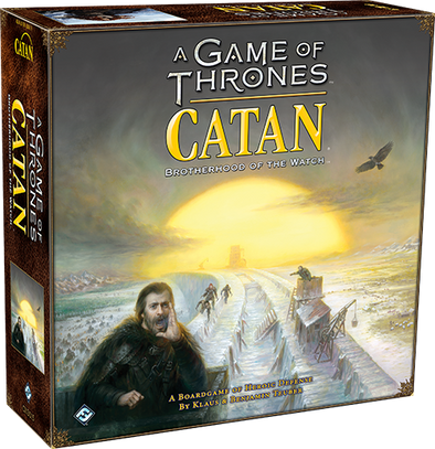 A Game of Thrones Catan: Brotherhood of the Watch (Pre-Order 2017) - 401 Games
