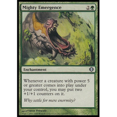 Mighty Emergence (ALA) available at 401 Games Canada