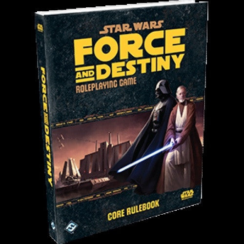 Star Wars: Force and Destiny - Core Rulebook available at 401 Games Canada