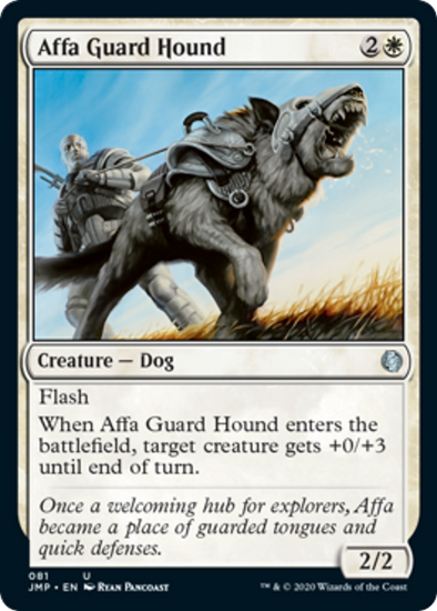 Affa Guard Hound (JMP) - 401 Games