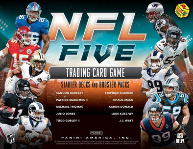 2019 Panini NFL Five Football Starter Deck Box - 401 Games