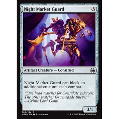 Buy Night Market Guard (AER) and more Great Magic: The Gathering Products at 401 Games