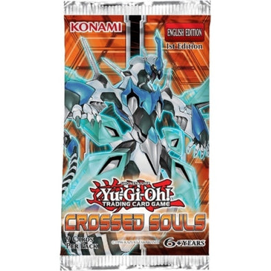 Buy Yugioh - Crossed Souls - Booster Pack and more Great Yugioh Products at 401 Games