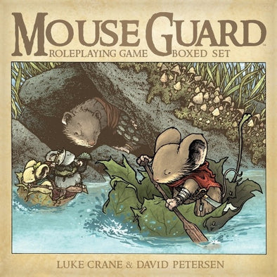Mouse Guard Roleplaying Game 2nd Edition - Box Set - 401 Games