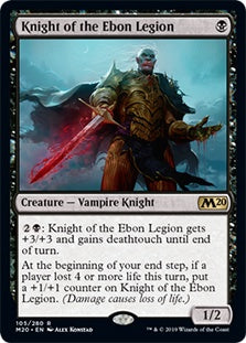 Knight of the Ebon Legion (M20) - 401 Games