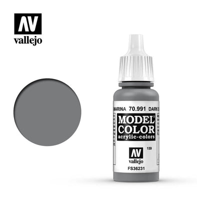 Buy Vallejo - Model Color - 159 - Dark Sea Grey and more Great Tabletop Wargames Products at 401 Games