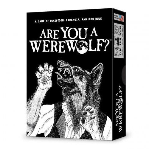 Buy Are You A Werewolf? Boxed Edition and more Great Board Games Products at 401 Games
