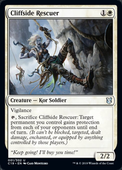 Cliffside Rescuer (C19)