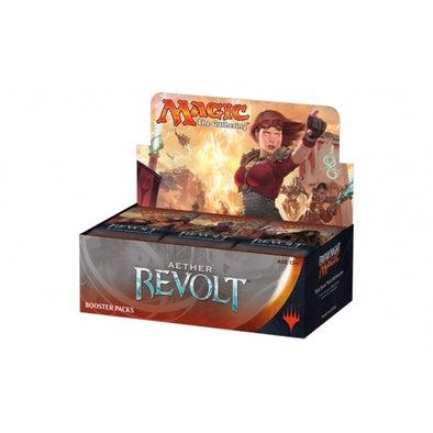 Buy MTG - Aether Revolt - Russian Booster Box and more Great Magic: The Gathering Products at 401 Games