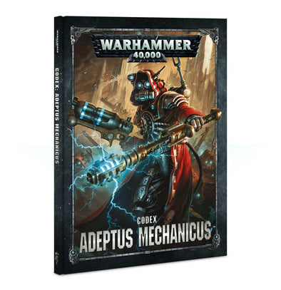 Buy Warhammer 40,000 - Codex: Adeptus Mechanicus - 8th Edition and more Great Games Workshop Products at 401 Games