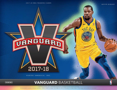 2017-18 Panini Vanguard Basketball Hobby Box
