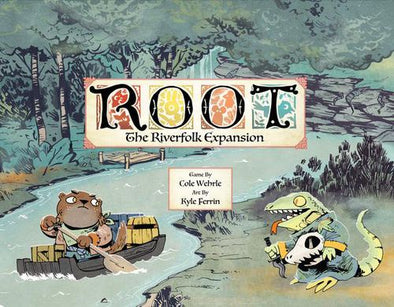 Root: The Riverfolk Expansion (Pre-Order)