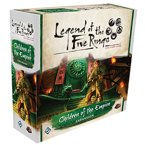 Buy Legend of the Five Rings: The Card Game - Children of the Empire and more Great Board Games Products at 401 Games