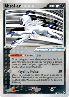 Absol ex - 92/108 (PKP) - 401 Games