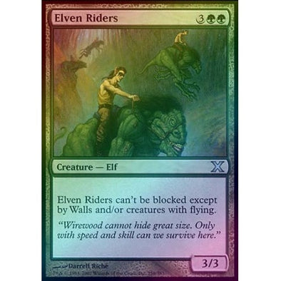 Elven Riders (Foil) available at 401 Games Canada