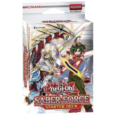 Buy Yugioh - Saber Force Starter Deck and more Great Yugioh Products at 401 Games