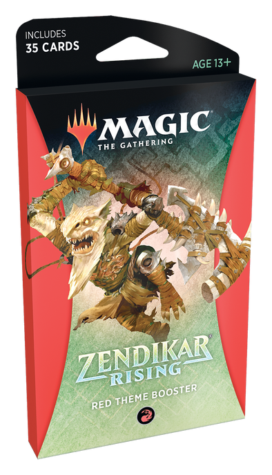 MTG - Zendikar Rising - Theme Booster Pack - Red available at 401 Games Canada