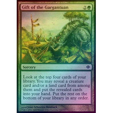 Gift of the Gargantuan (Foil) (ALA) available at 401 Games Canada