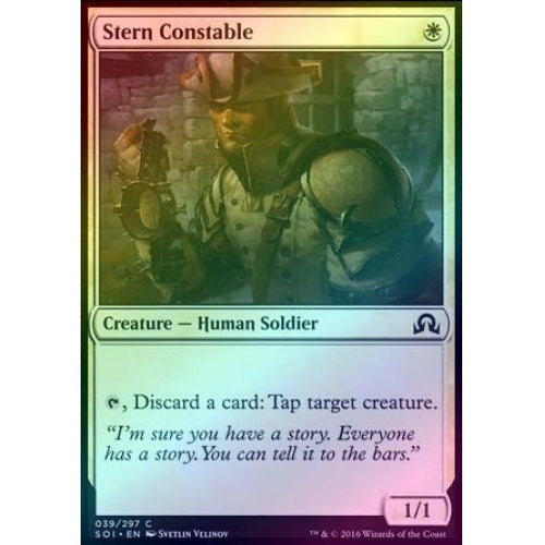 Stern Constable (Foil) - 401 Games