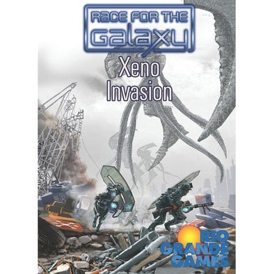 Race for the Galaxy - Xeno Invasion Expansion - 401 Games