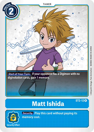 Matt Ishida (ST2-12) available at 401 Games Canada