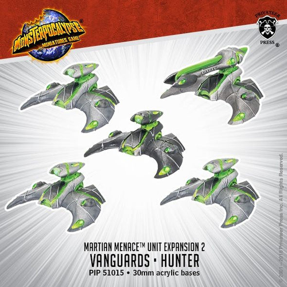 Buy Monsterpocalypse Miniatures Game - Martian Menace - Vanguards/Hunter and more Great Tabletop Wargames Products at 401 Games