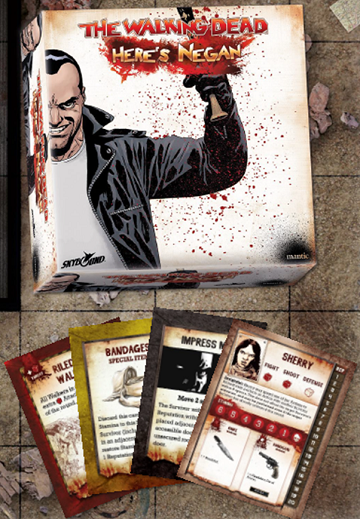 Buy The Walking Dead - Here's Negan - The Board Game and more Great Board Games Products at 401 Games