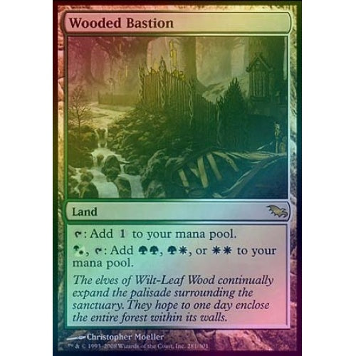 Wooded Bastion (Foil) - 401 Games